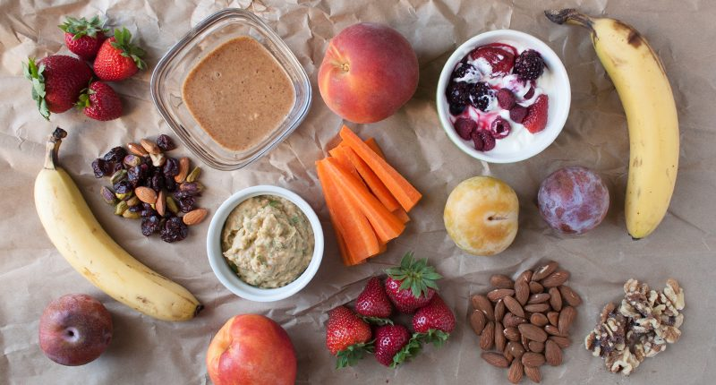 Healthy snacks for healthcare