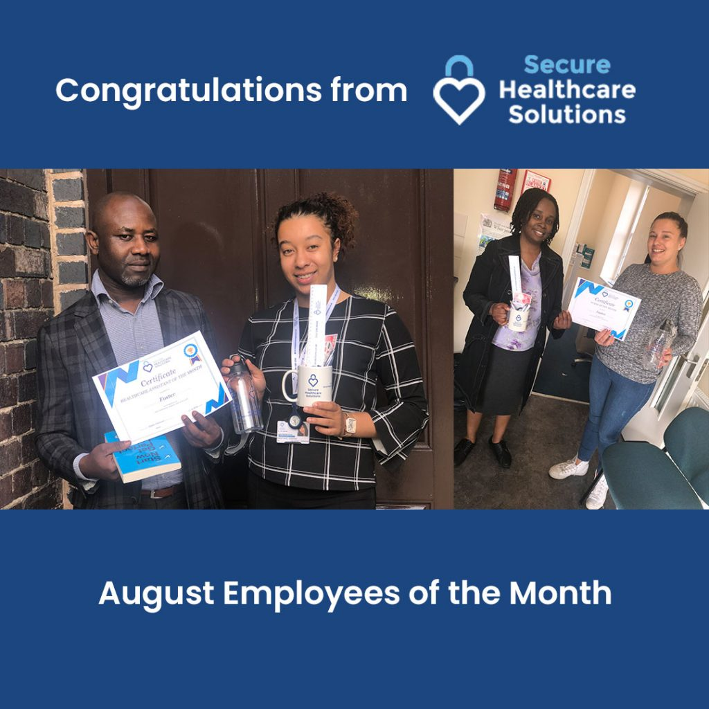 Employee of the month – August